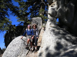 Andre & Rose on Kaiser Trail