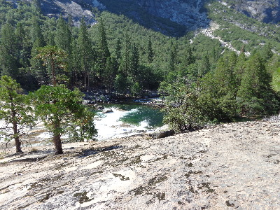 Typical Views of Rolling River & Granite Slabs.