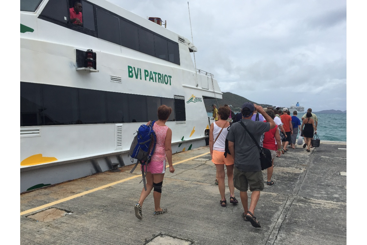 Headed back to Charlotte Amalie.