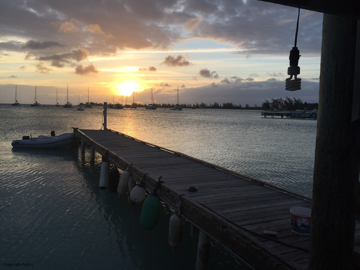 Goodnight from Anegada.