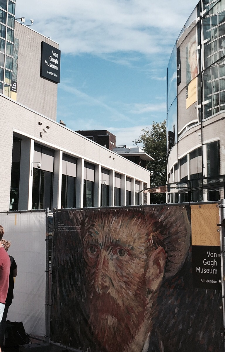 Yes, it's the van Gogh museum.