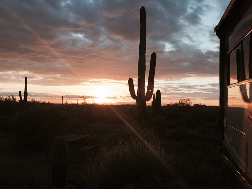 Lost Dutchman sunset.