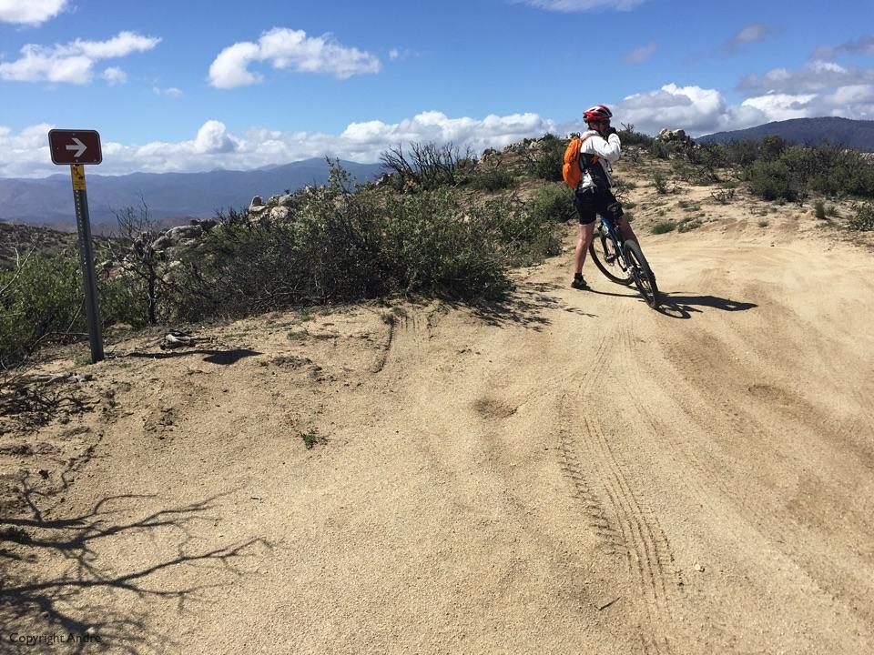 Still a bit of climbing on the dirt.
