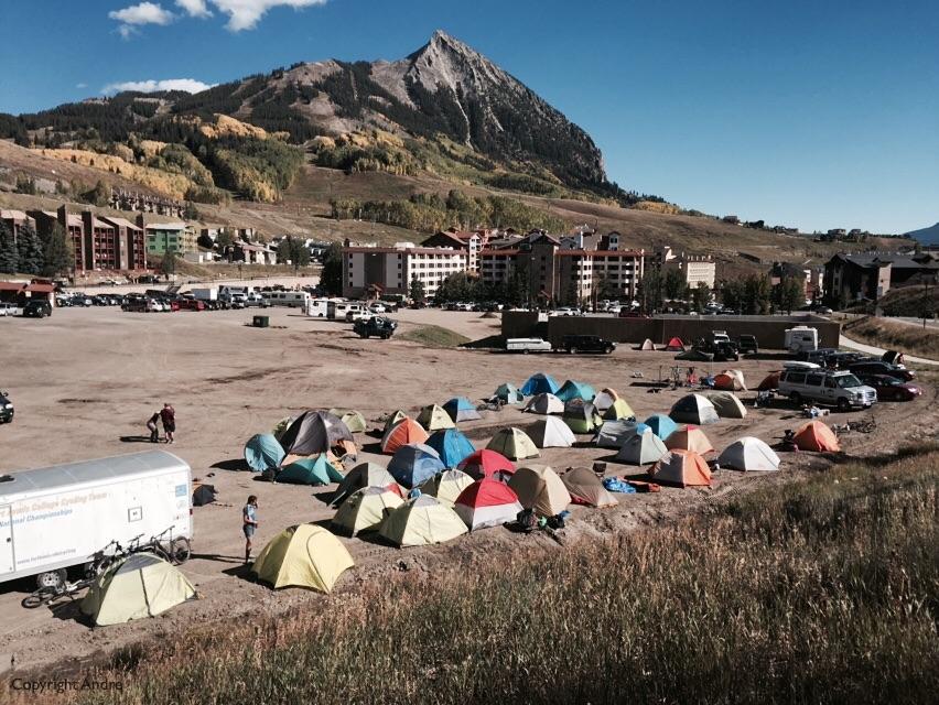 Camp city .
