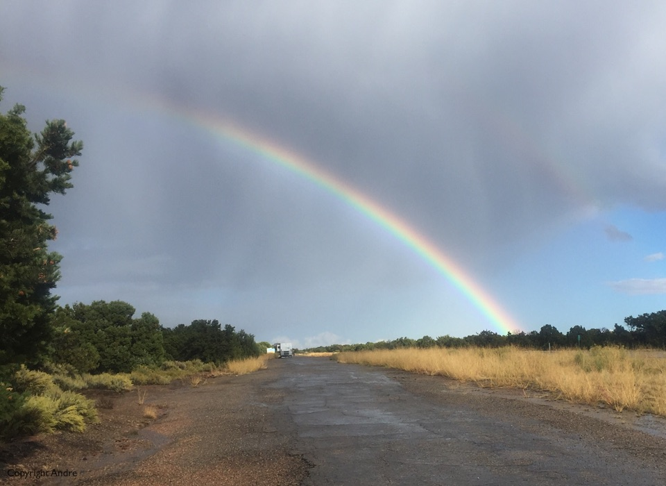 Nice rainbow though.