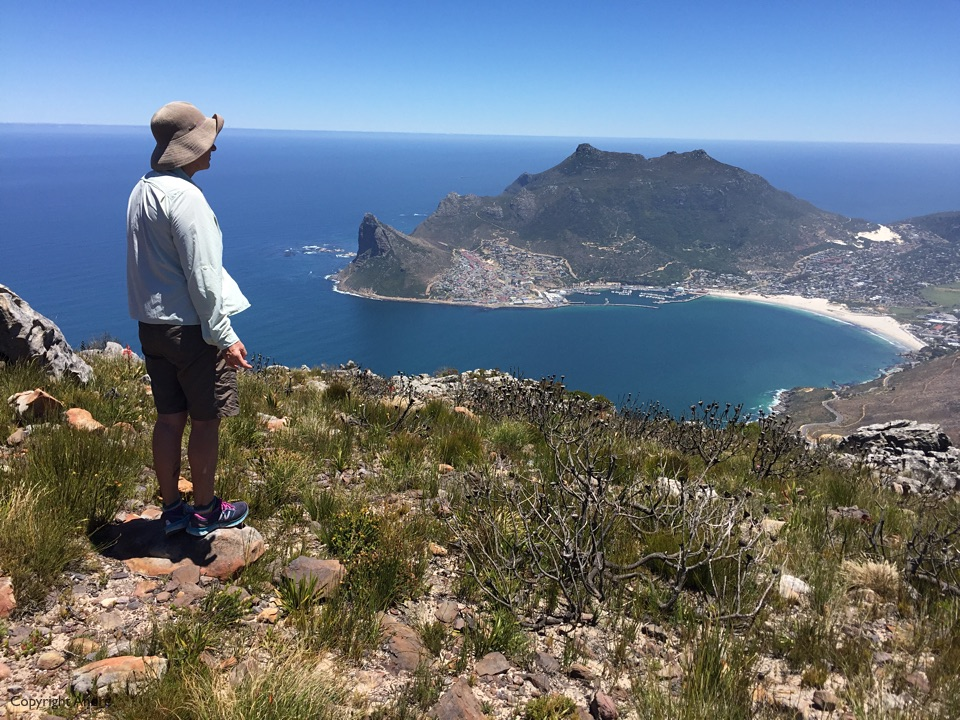 Looking down towards Hout Bay.