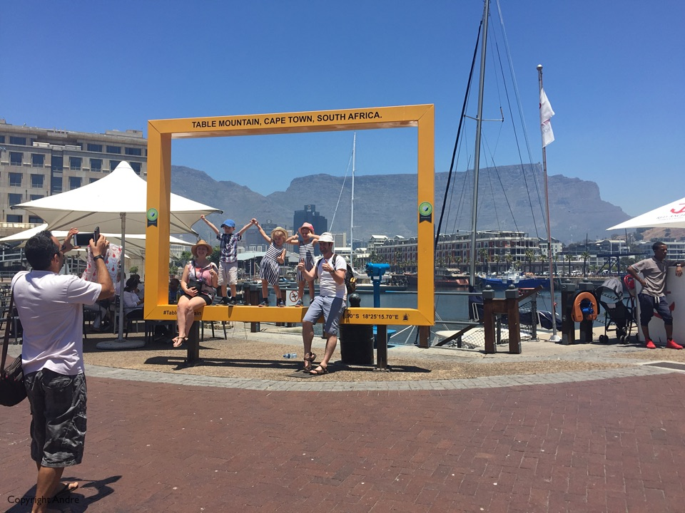 Cape Town waterfront.