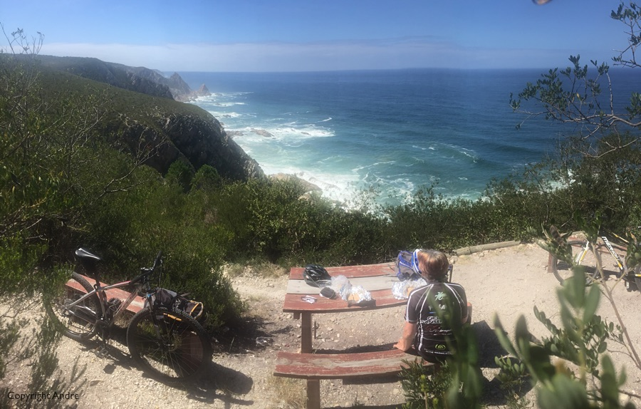 Can't beat the view lunch stop.