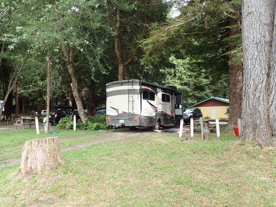 Campsite at Elk Resort.
