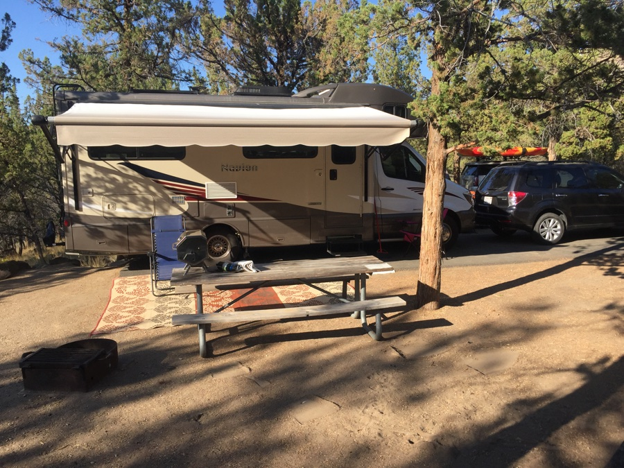 Cove Palisades campsite for the eclipse.