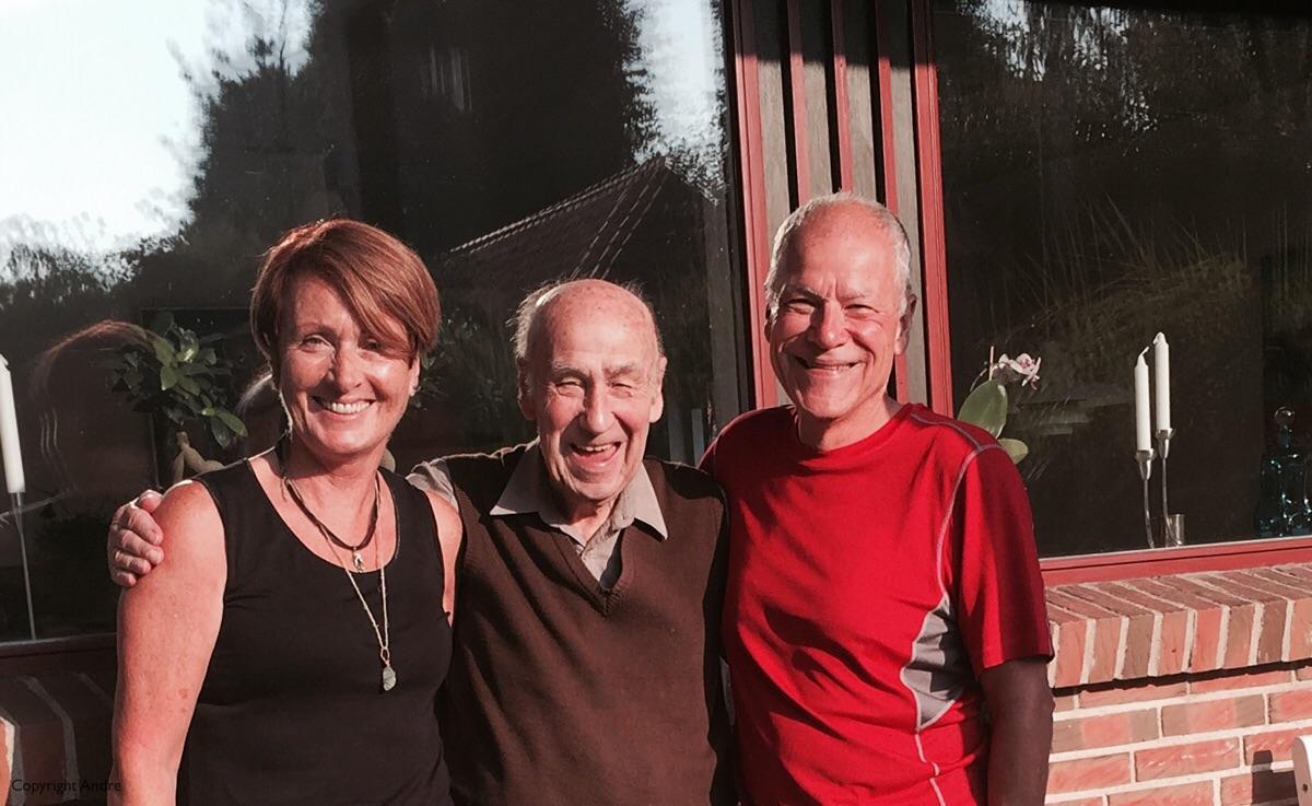 Rose, Kalle & Andre. Thanks to Inger for taking the photo.