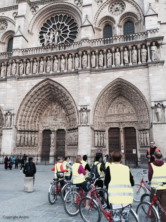 First stop was Notre Dame where I learnt that the gargoyles were actually water spouts to keep the water from running down the walls.