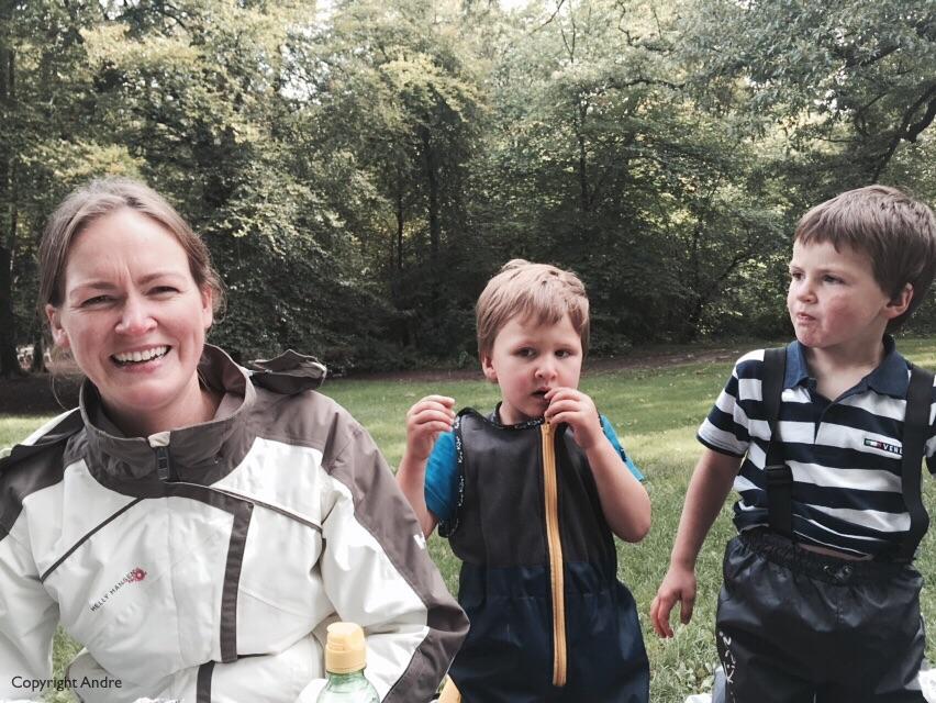 Suzanne, Mathew & Max.