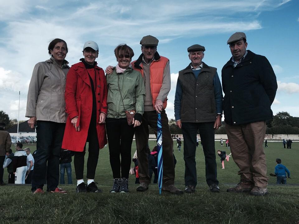 Patricia, Kathleen, Rose, Paddy, Nicholas & PJ at the hurling match.