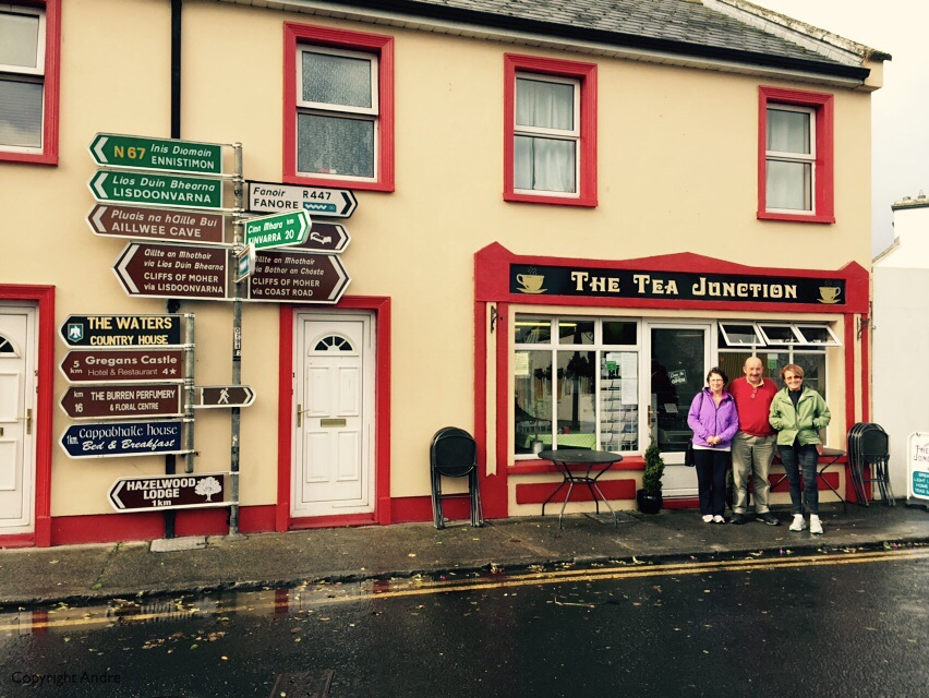 Tea in Ballyvaugn.