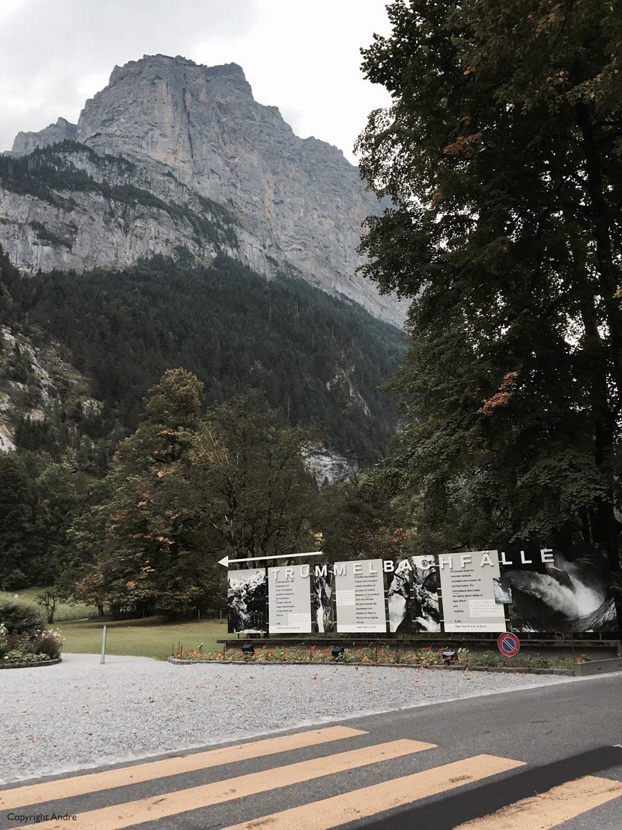 Entrance to Trummelbach Falle.