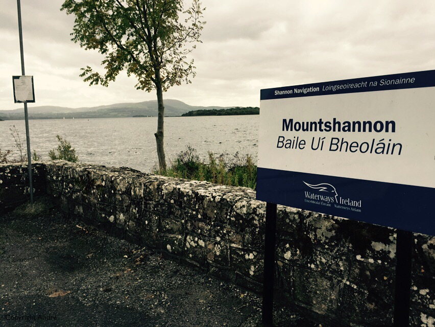Stopped at Mountshannon on the way back.