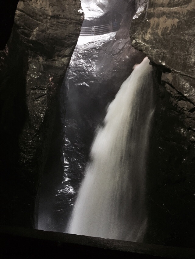 """I think there were 10 waterfall """"levels""""."""