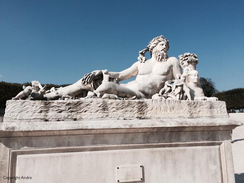 """Lorenzo Ottone's """"Le Nil"""" sculptue."""