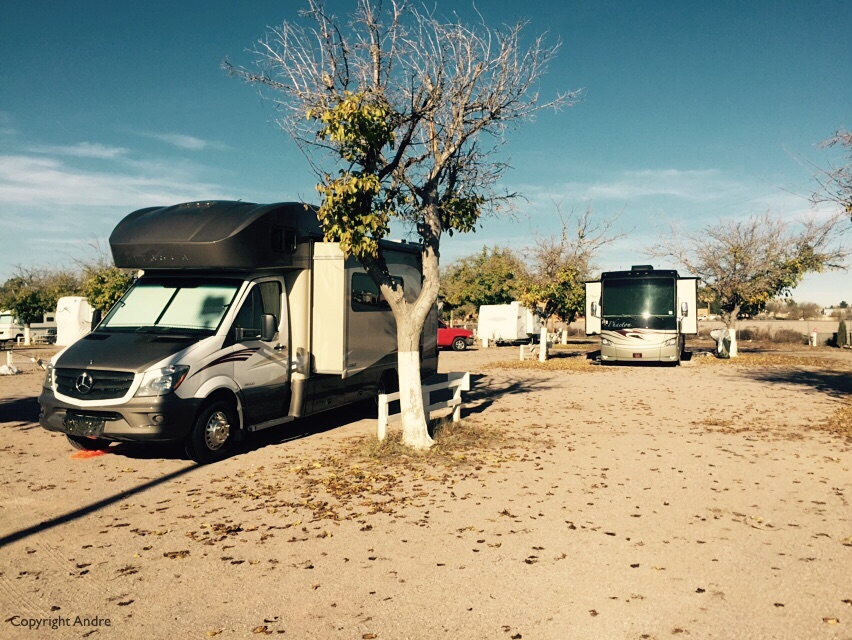 RV park in Las Cruces