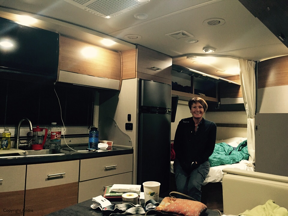 First night in the RV