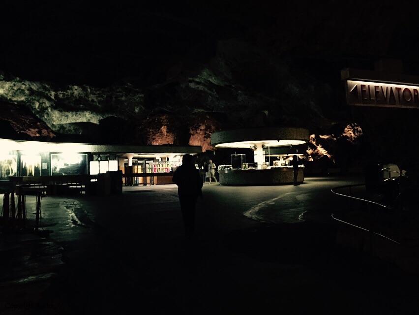 """Underground """"rest area"""" - wierd."""