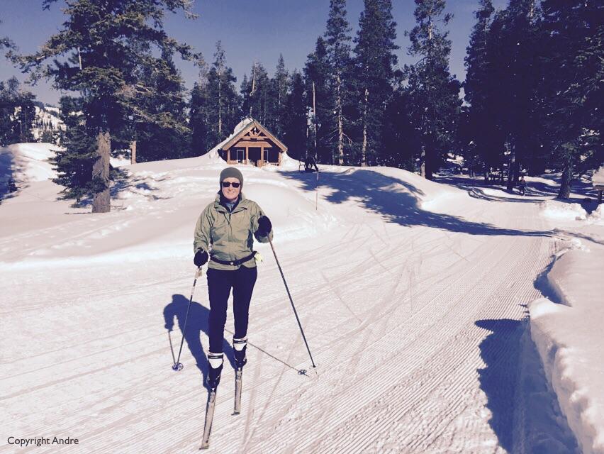 Skiing at Royal Gorge.