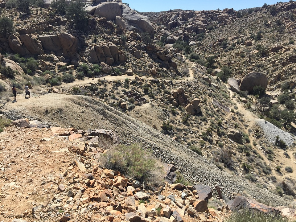 Trail near the Desert Queen mine.