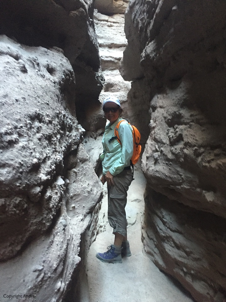Side slot canyon.