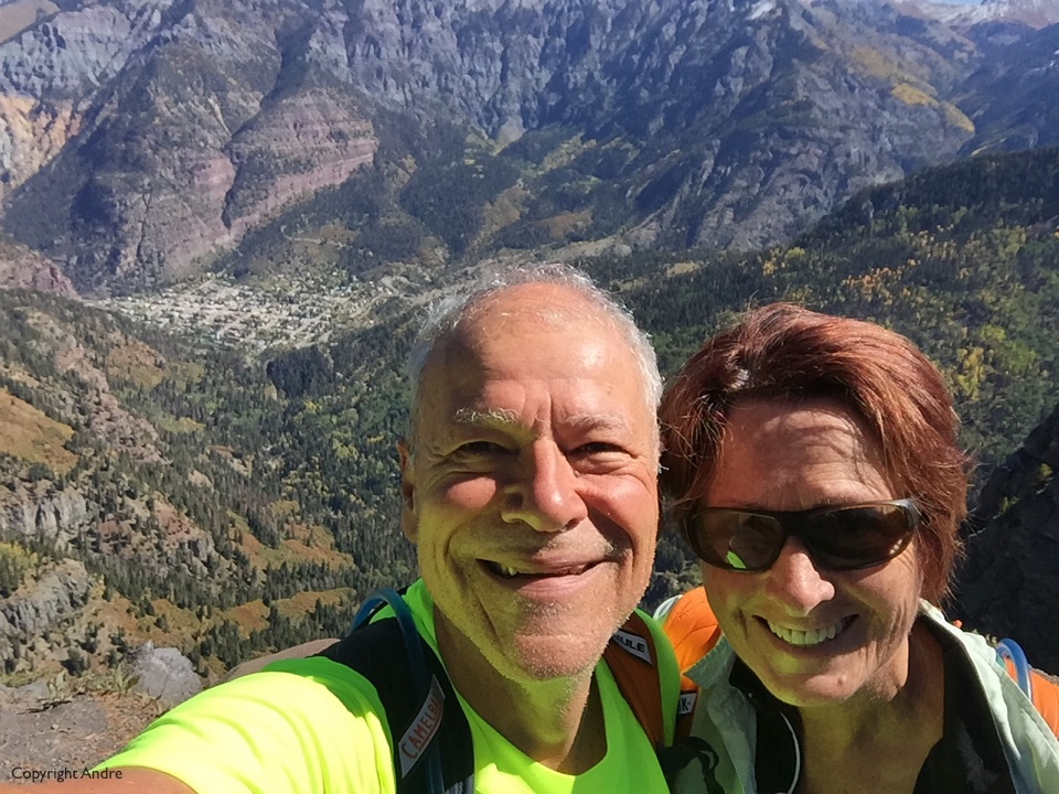 Selfie over Ouray