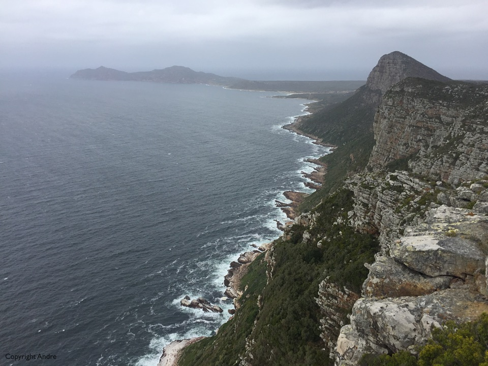 South to Cape Point.
