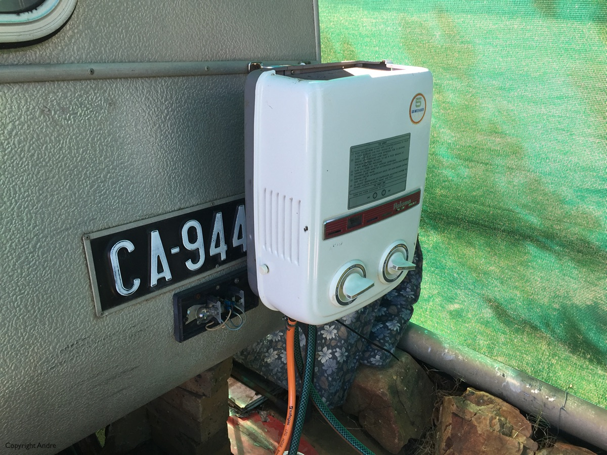 Tankless heater.