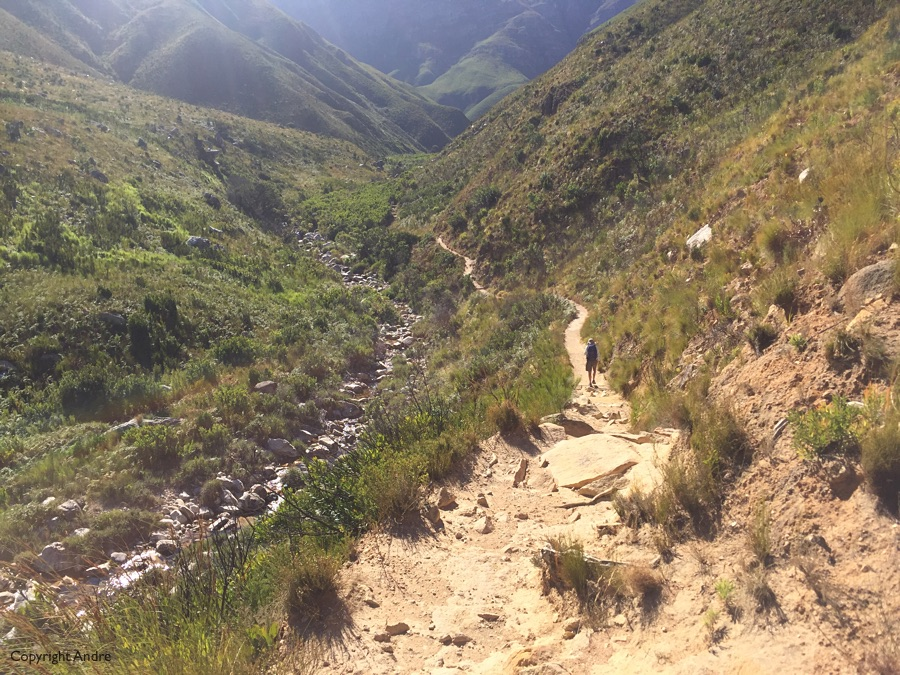 A hike up Jonkershoek.