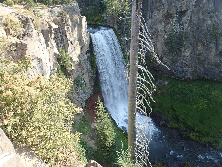 Tumalo Falls.